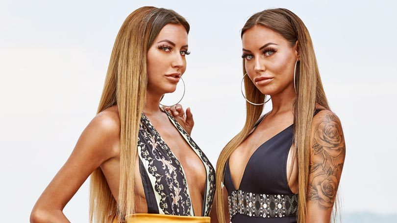 Twins Esmee en Sharon Ex on the Beach Double Dutch All Stars